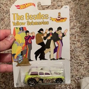 The Beatles hot wheels